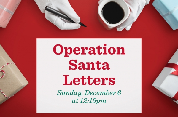Operation Santa Letters