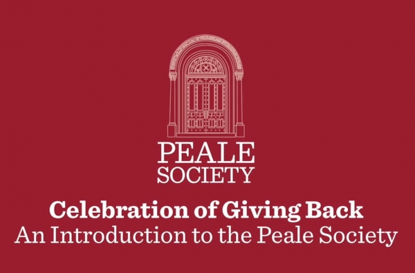 Celebration of Giving  Back - Introduction to the Peale Society