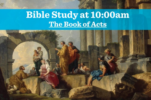 The Book of Acts, Week 15
