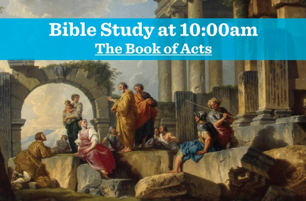 The Book of Acts, Week 1